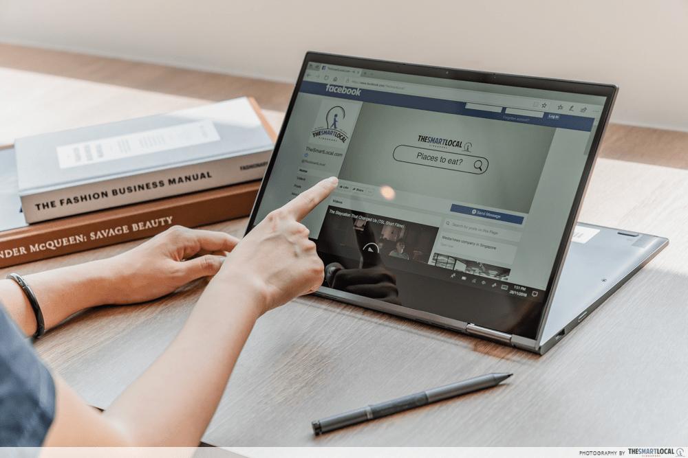 Lenovo Yoga Laptop Tablet Convertible