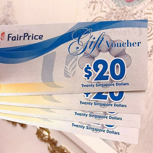NTUC Fairprice vouchers