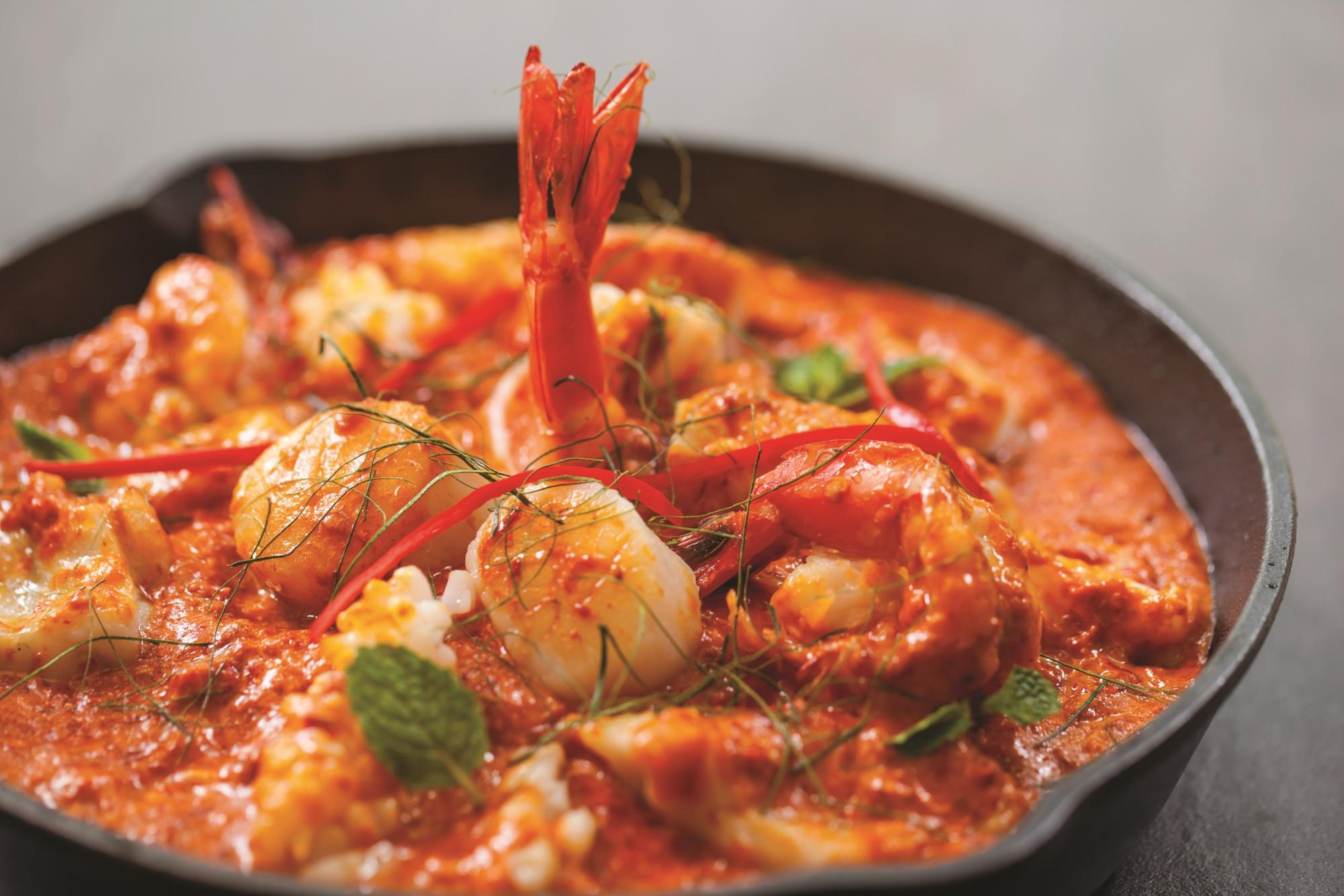 ChopeDeals birthday sale - Red House Seafood Spicy Seafood Combination dish