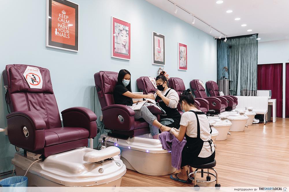 City Square Mall Nail Salon