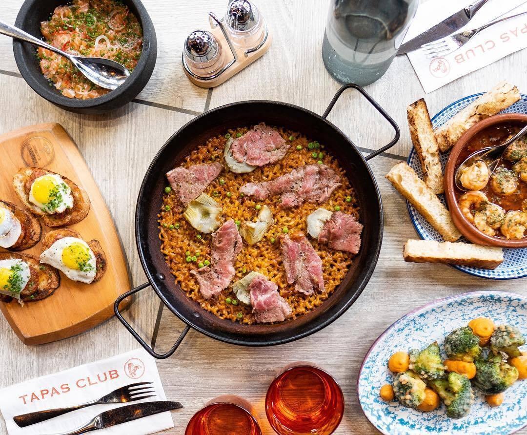 Tapas Club Spanish Paella