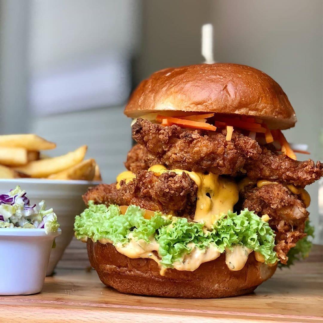Dempsey Project Burger