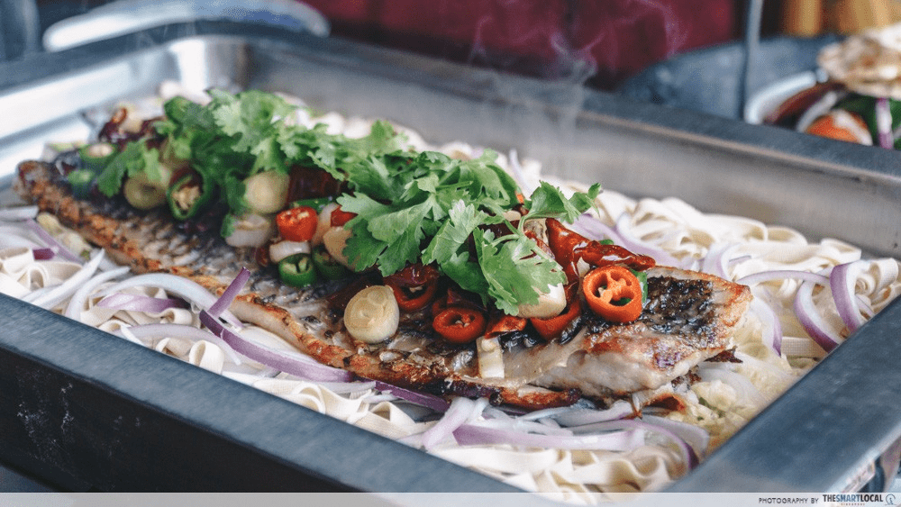 Lokkee Chinese Cuisine Steamed Fish