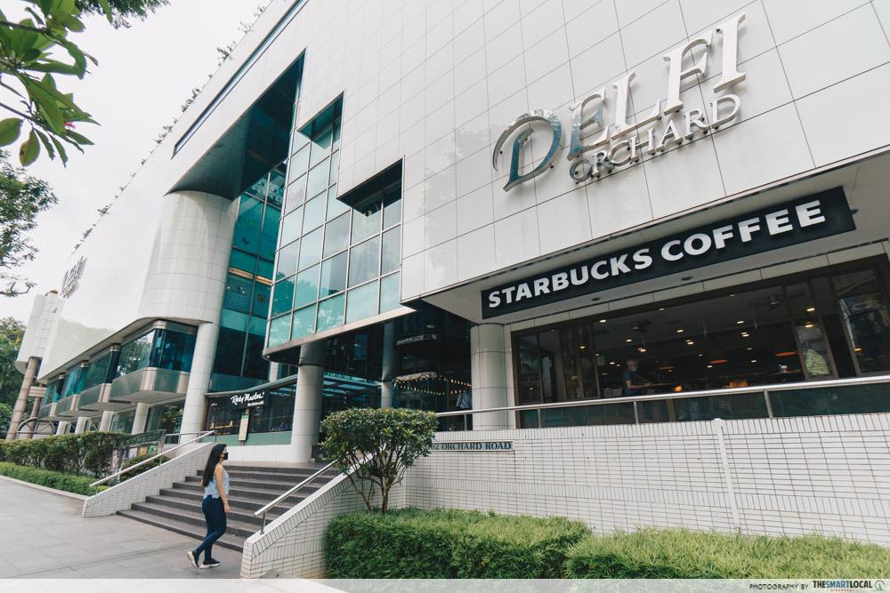 Delfi Orchard Singapore