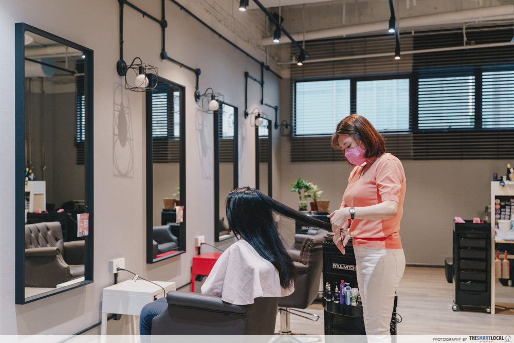 The Wiz Korean Hair Salon -Delfi Orchard