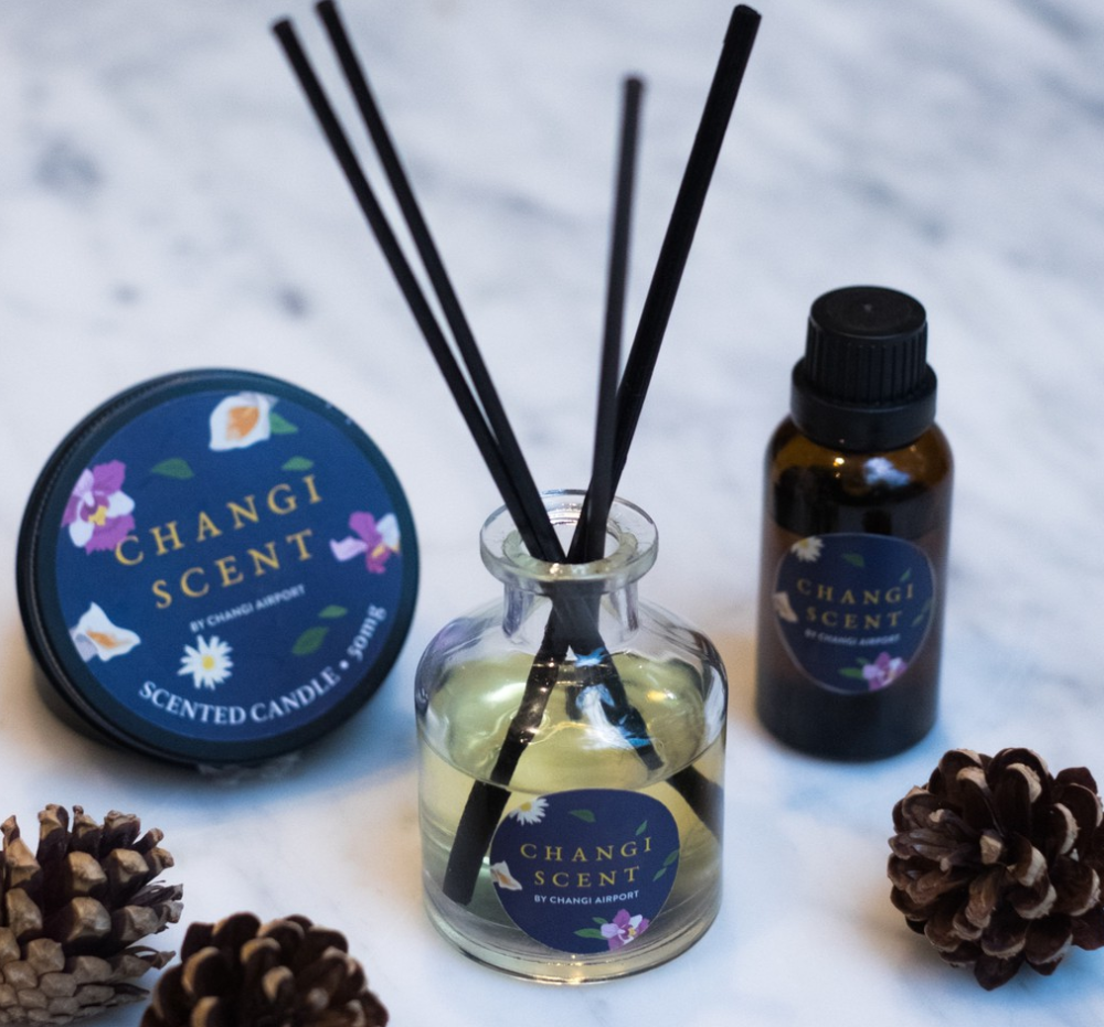 Changi Airport scented candles housewarming gifts
