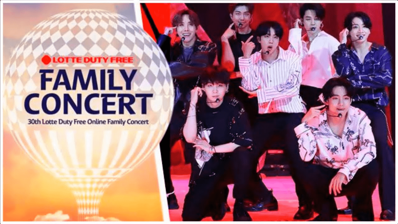 Lotte Duty Free Online Family Concert