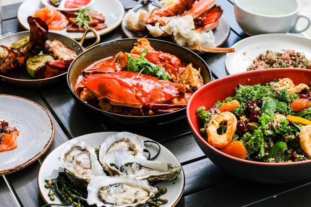 W Sentosa Cove Seafood Restaurants