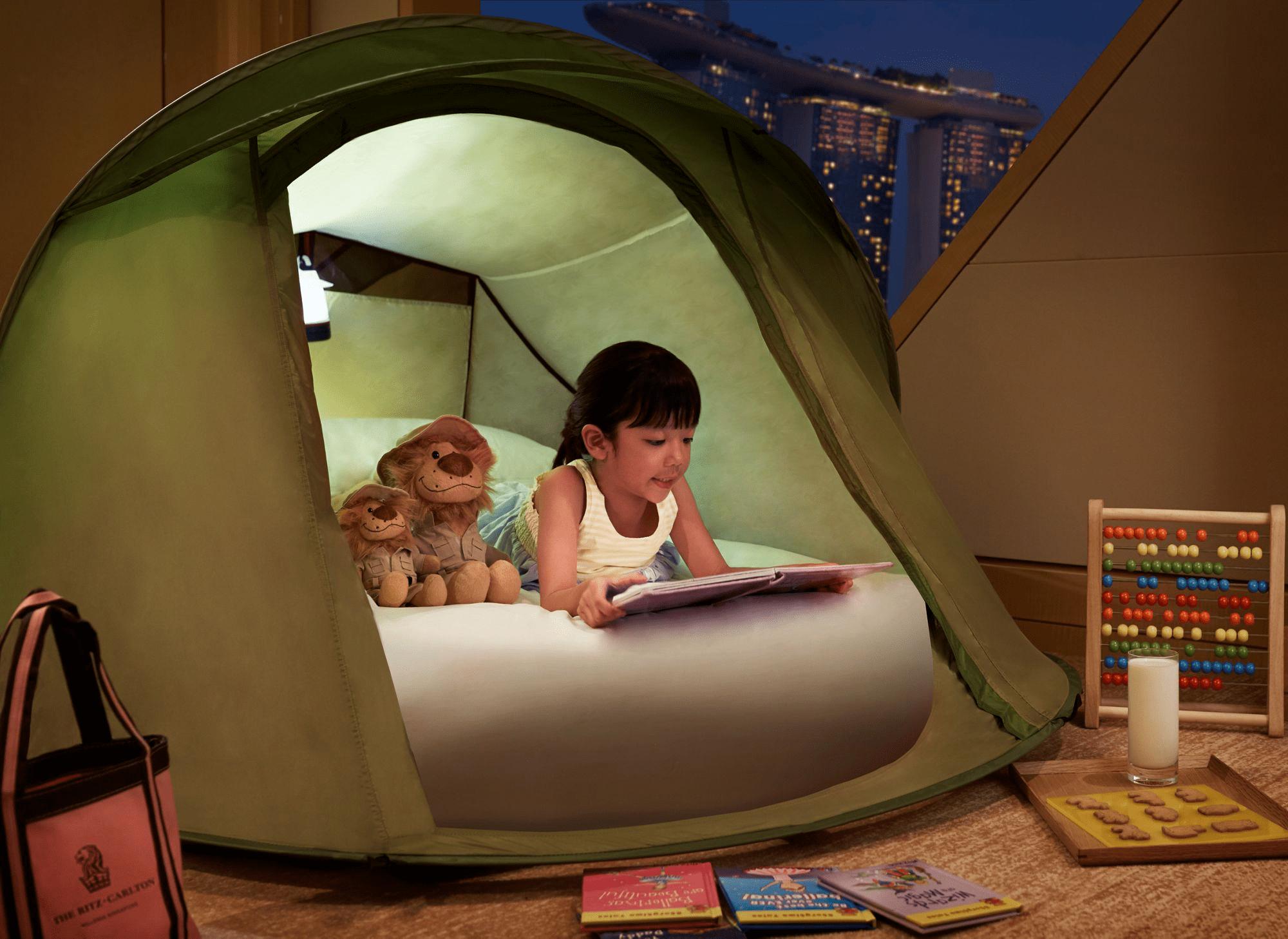 Ritz Carlton Kids Sleeping Tent