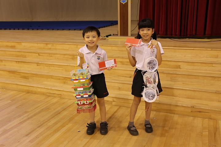 Paper lantern making Mid-Autumn Festival