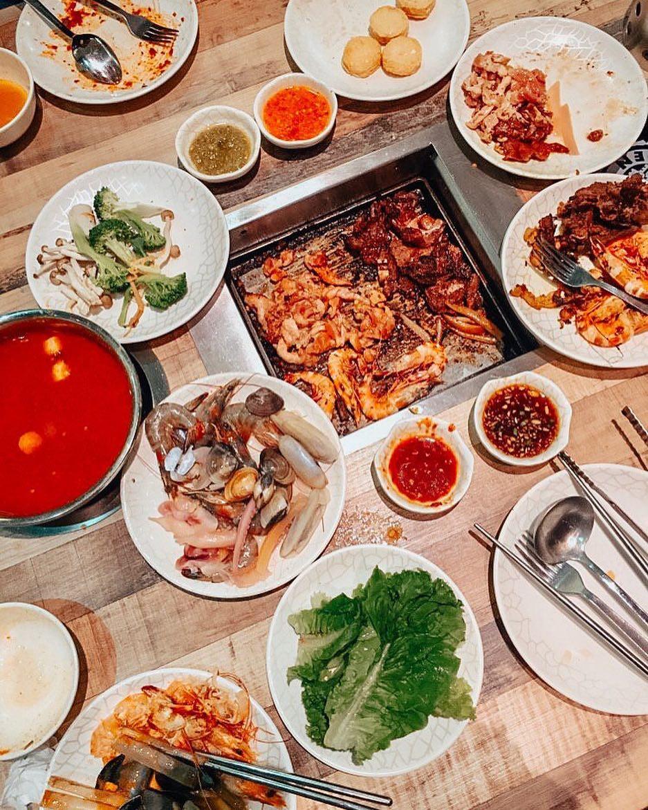 seoul garden buffet, birthday special