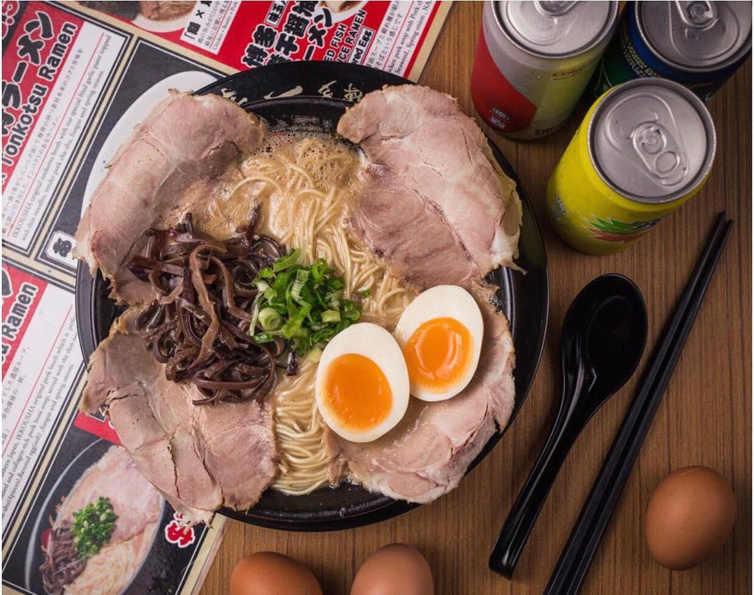 tonkotsu special at ikkousha ramen - birthday perks restaurants