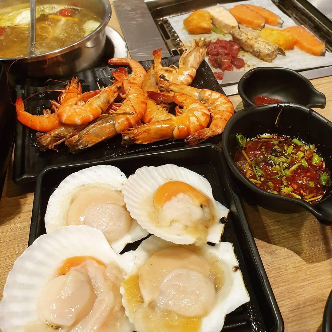 seafood seoul garden, birthday perks restaurants