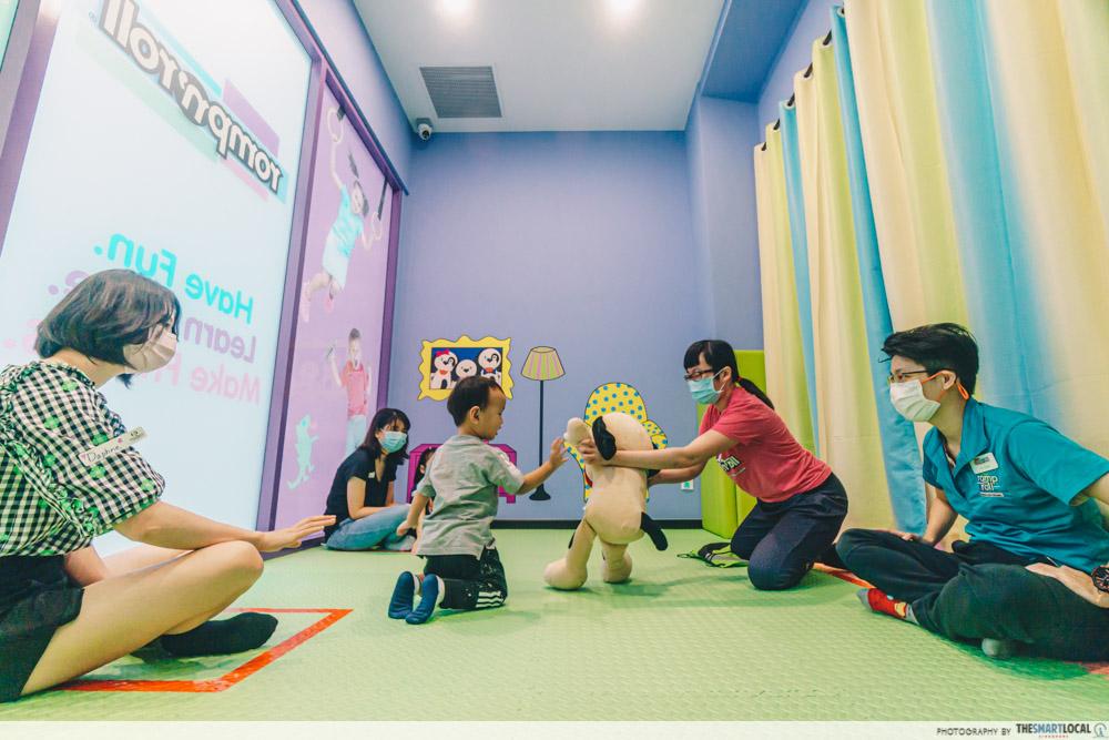 Learn through play at Romp n' roll Singapore