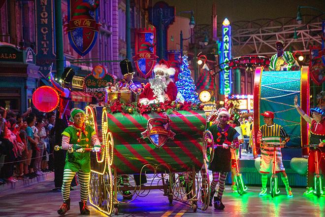 USS Christmas Parade
