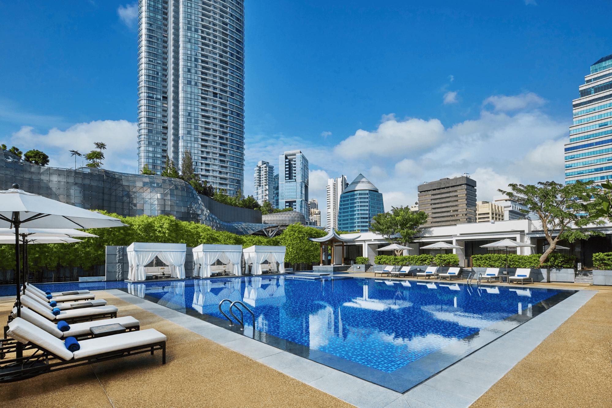 Marriott Tang Plaza swimming pool