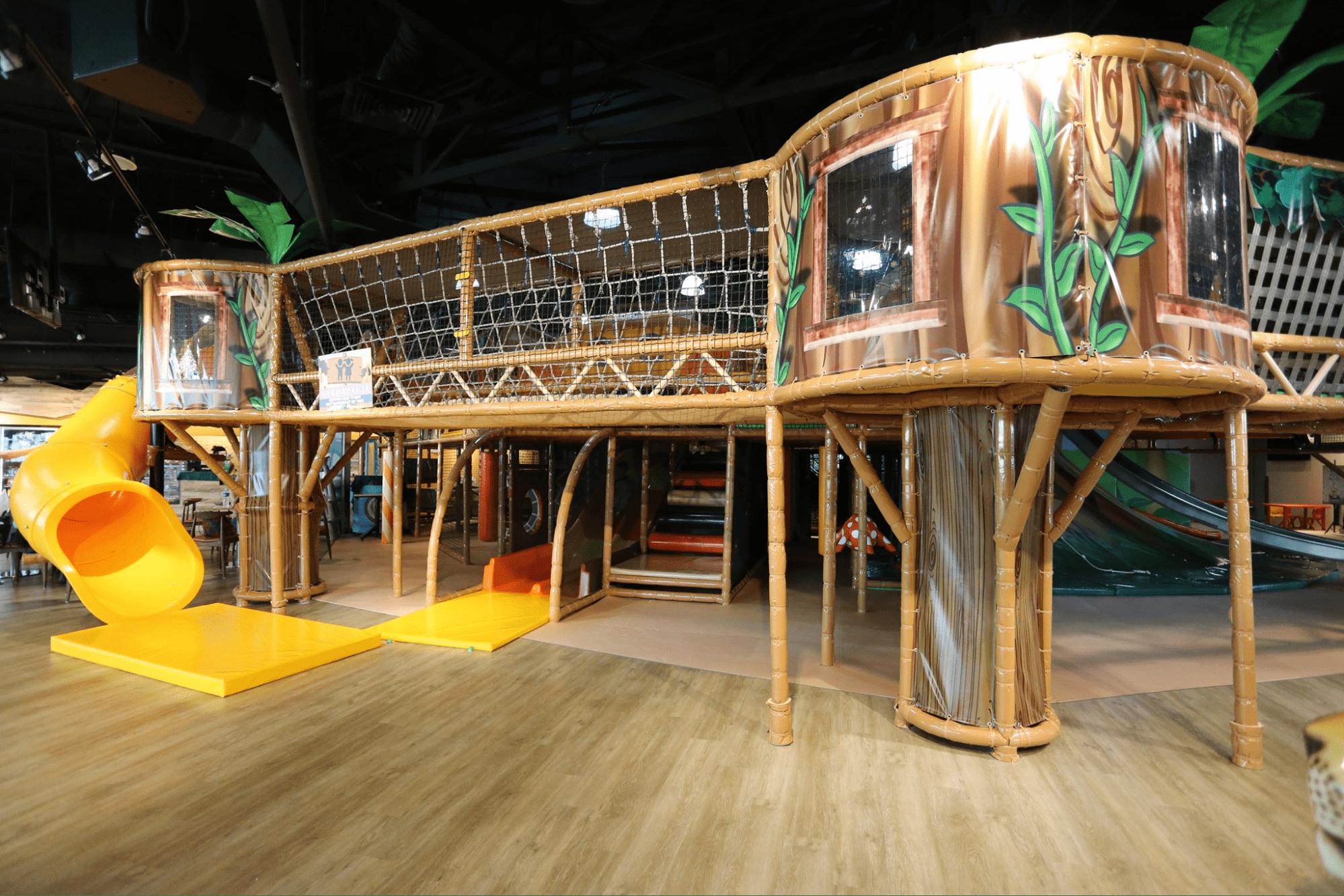 Waka Waka Safari-themed indoor playground at Furama riverfront