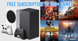 Xbox Series X S Promo
