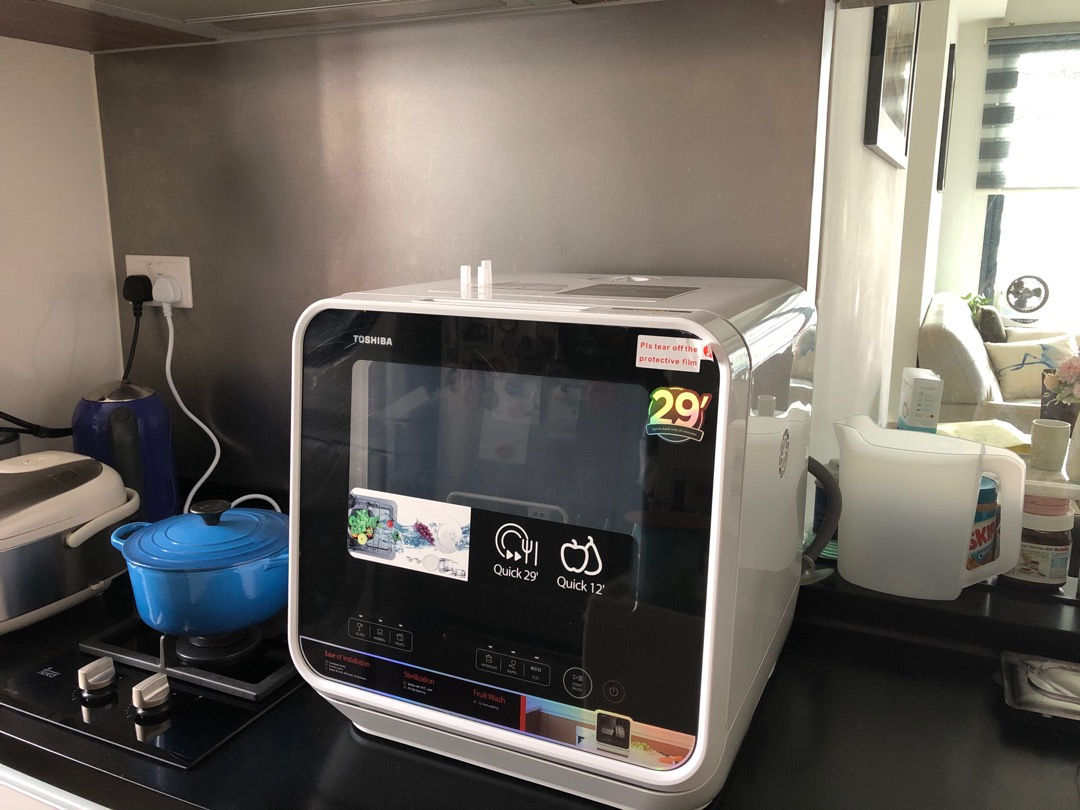 affordable dishwashers in singapore - Toshiba 5L Portable Dishwasher