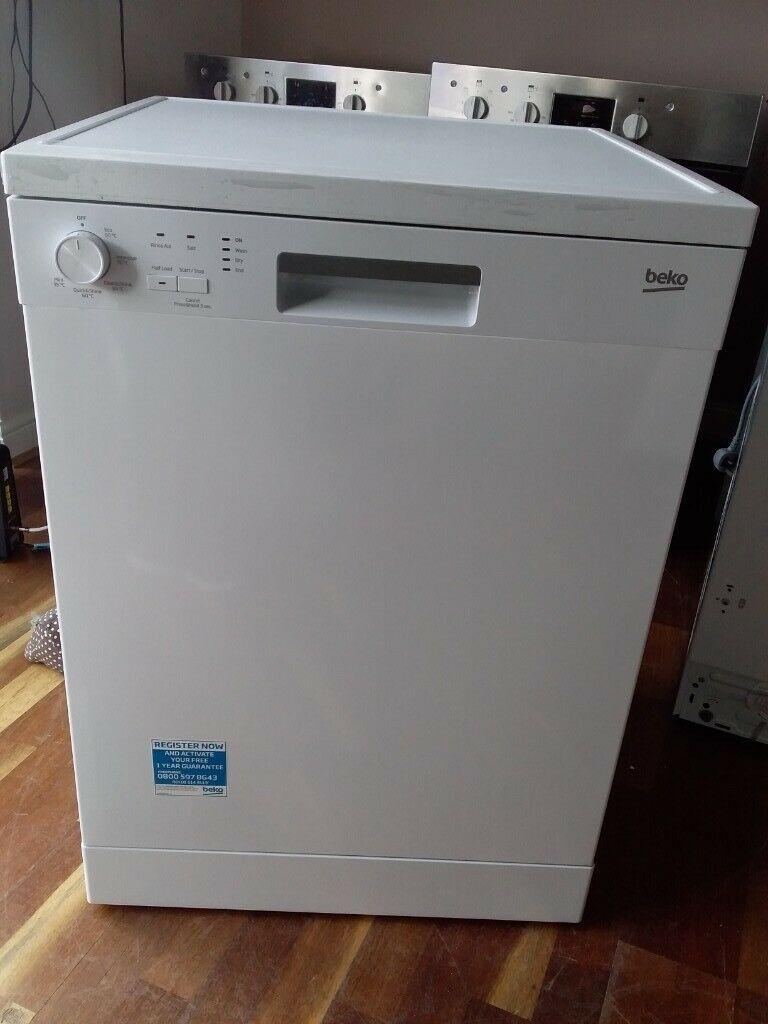 affordable dishwashers in singapore - Beko DFN05X11W Freestanding Dishwasher