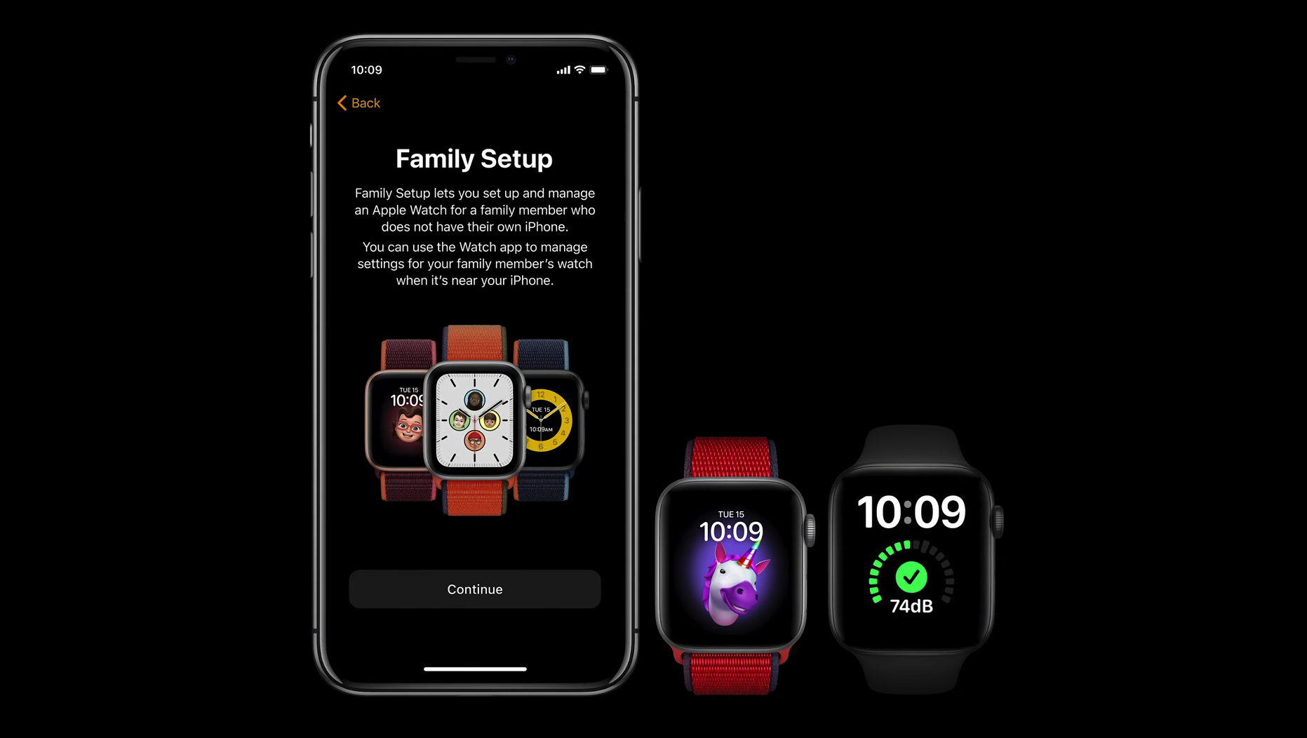 Family Setup for Apple Watch makes the SE ideal for children and the elderly.
