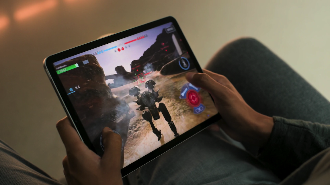 apple event september 2020 - an improved processor makes the iPad Air 4 ideal for gaming