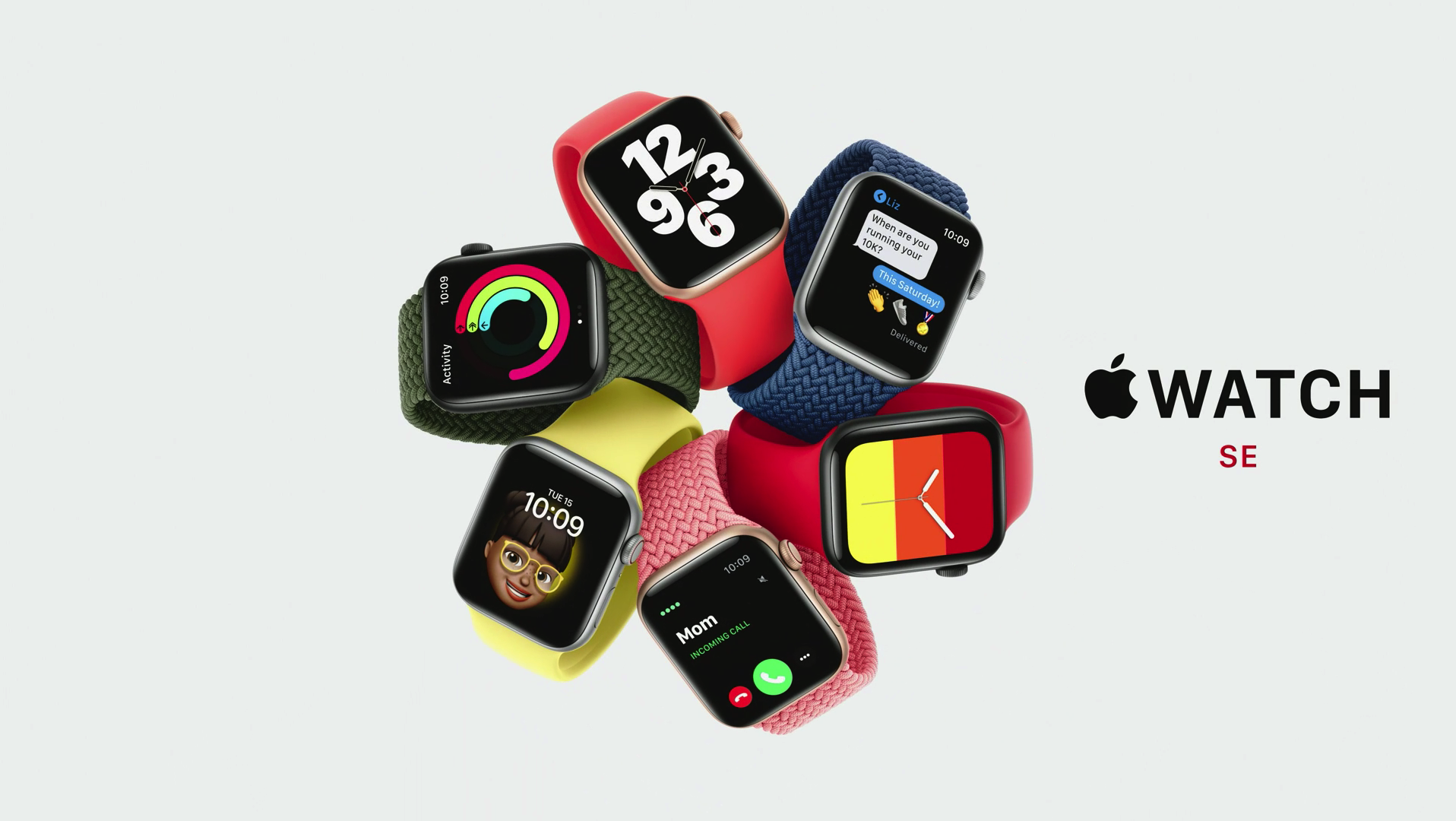 The Apple Watch SE will be available with a variety of accessories