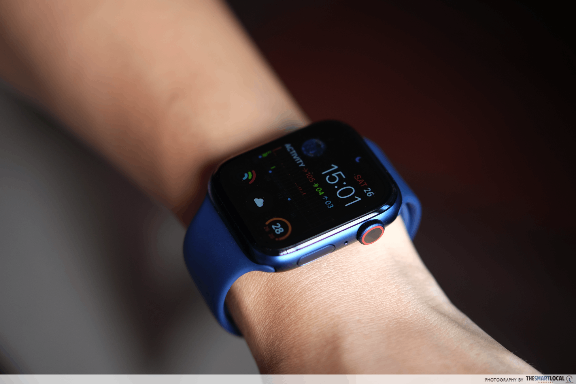 apple watch singapore 2020 price guide - series 6 in aluminium blue