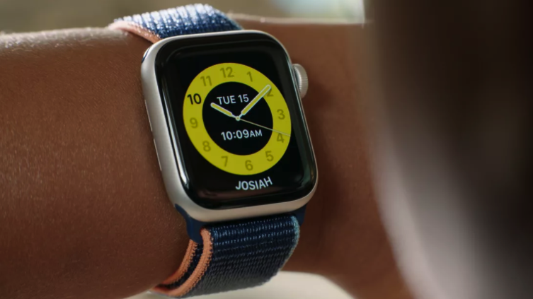 Apple Watch in Schooltime mode