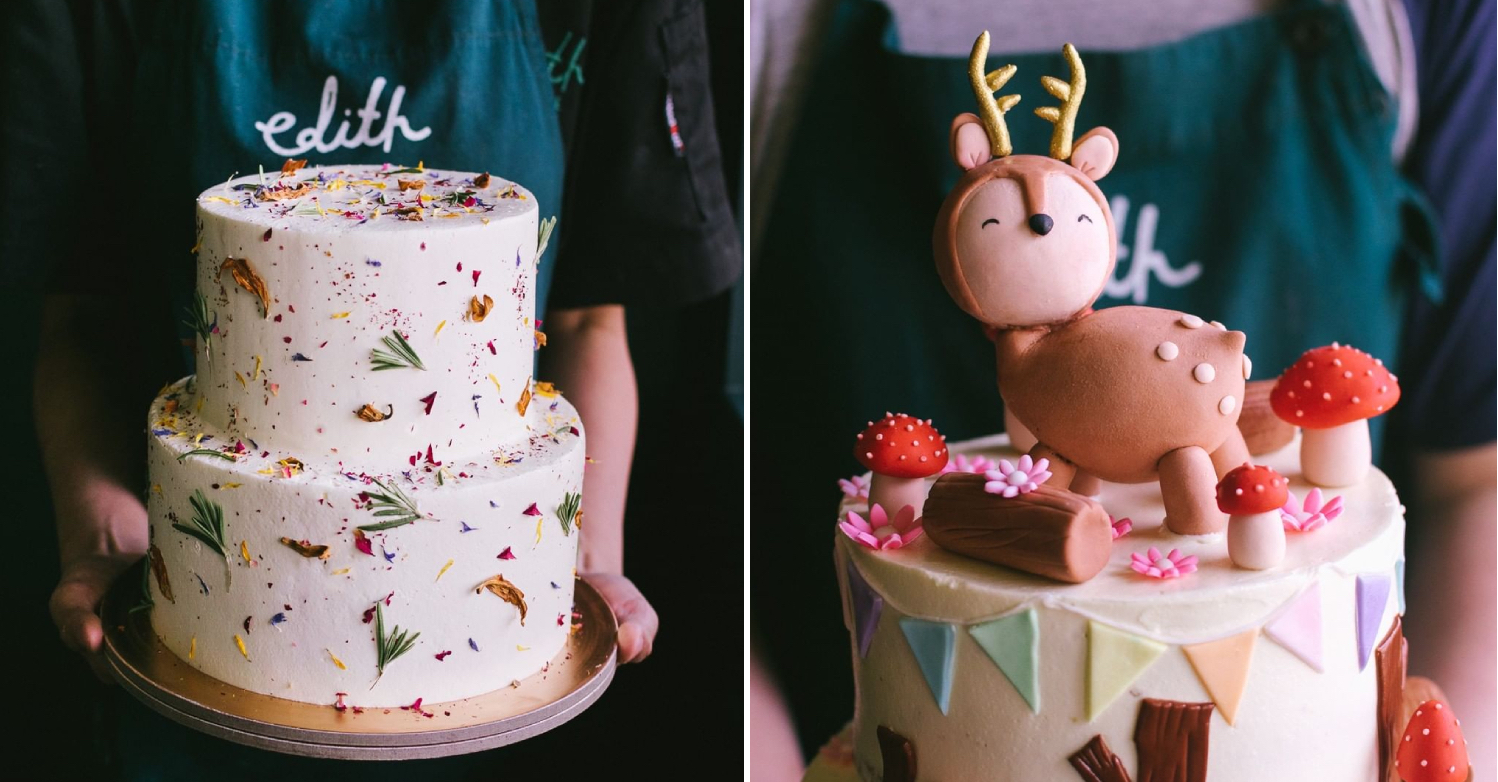 Cake Delivery options in floral and woodlans