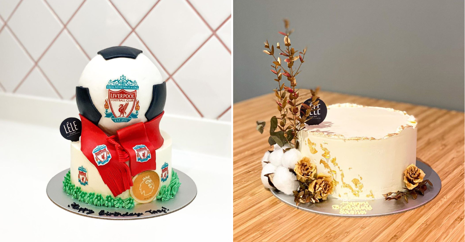 Liverpool cake with soccer ball
