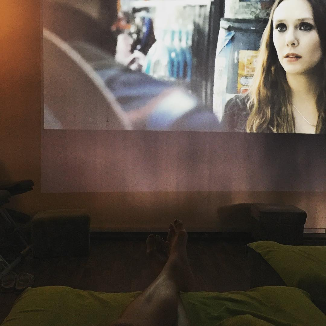 movie projections at green apple spa