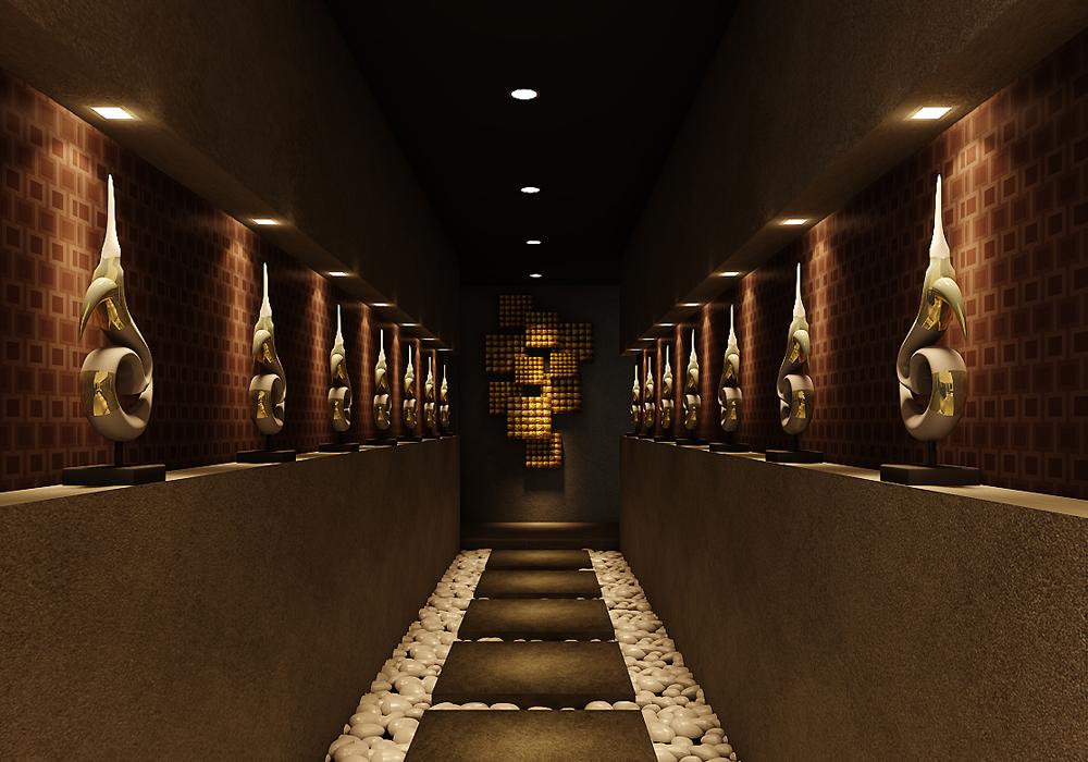 cheap massage singapore - zen-like entranceway to natureland spa