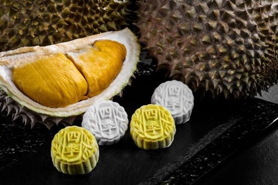 four seasons durian mooncake
