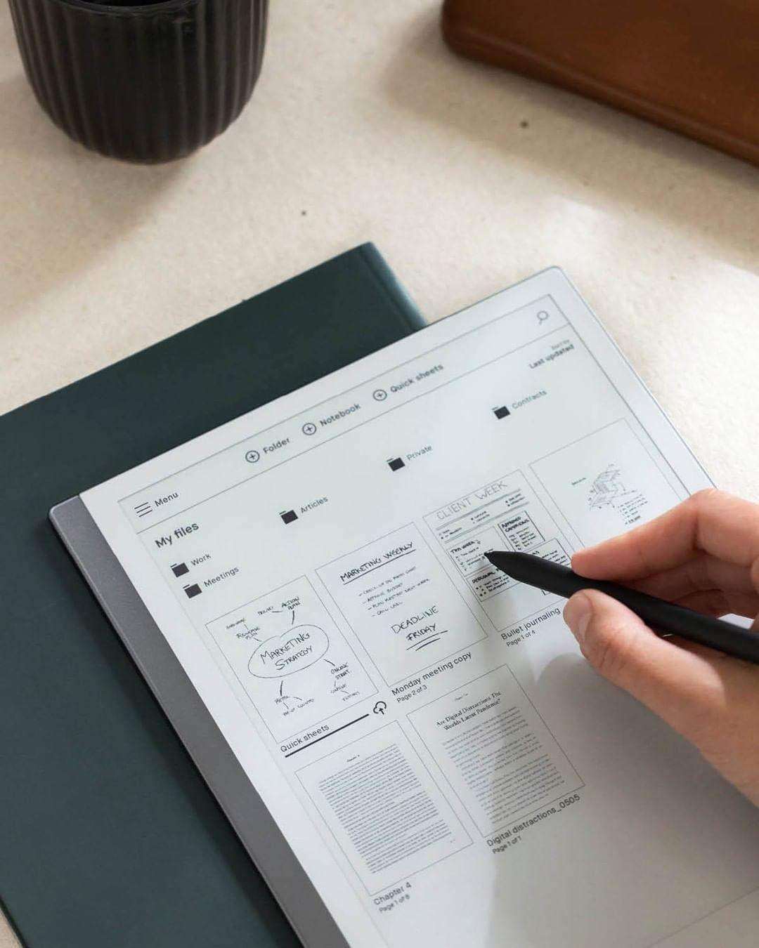 ebook reader singapore - ReMarkable 2 tablet