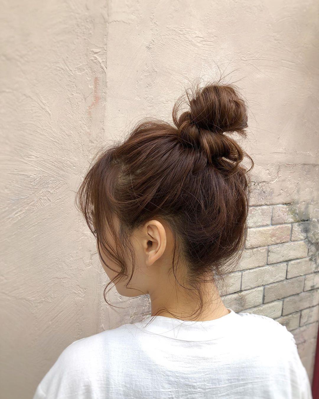 Habits for Hair Loss - Bun