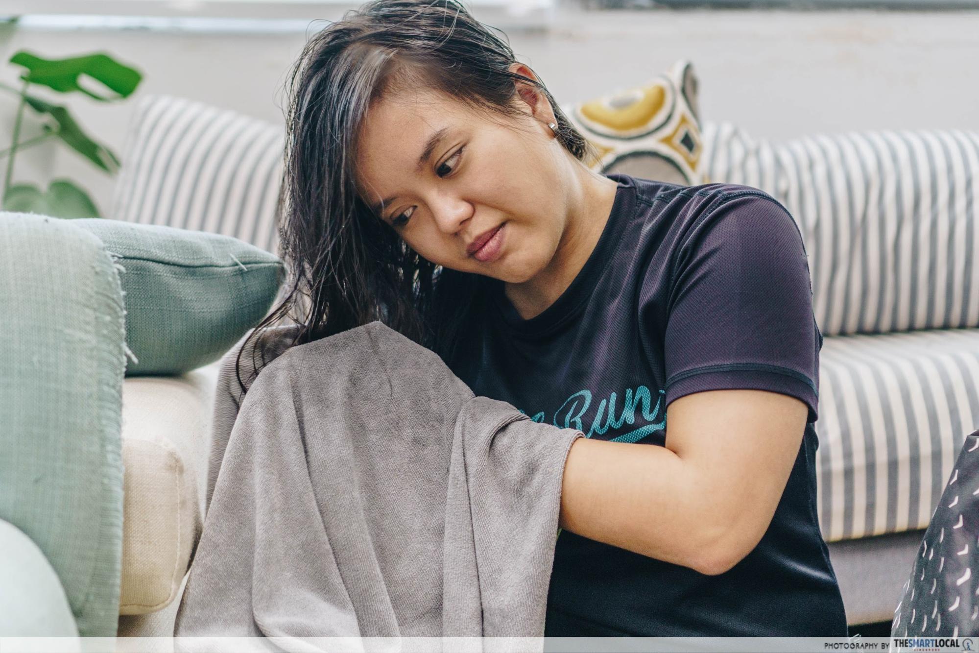Habits for Hair Loss - Towel