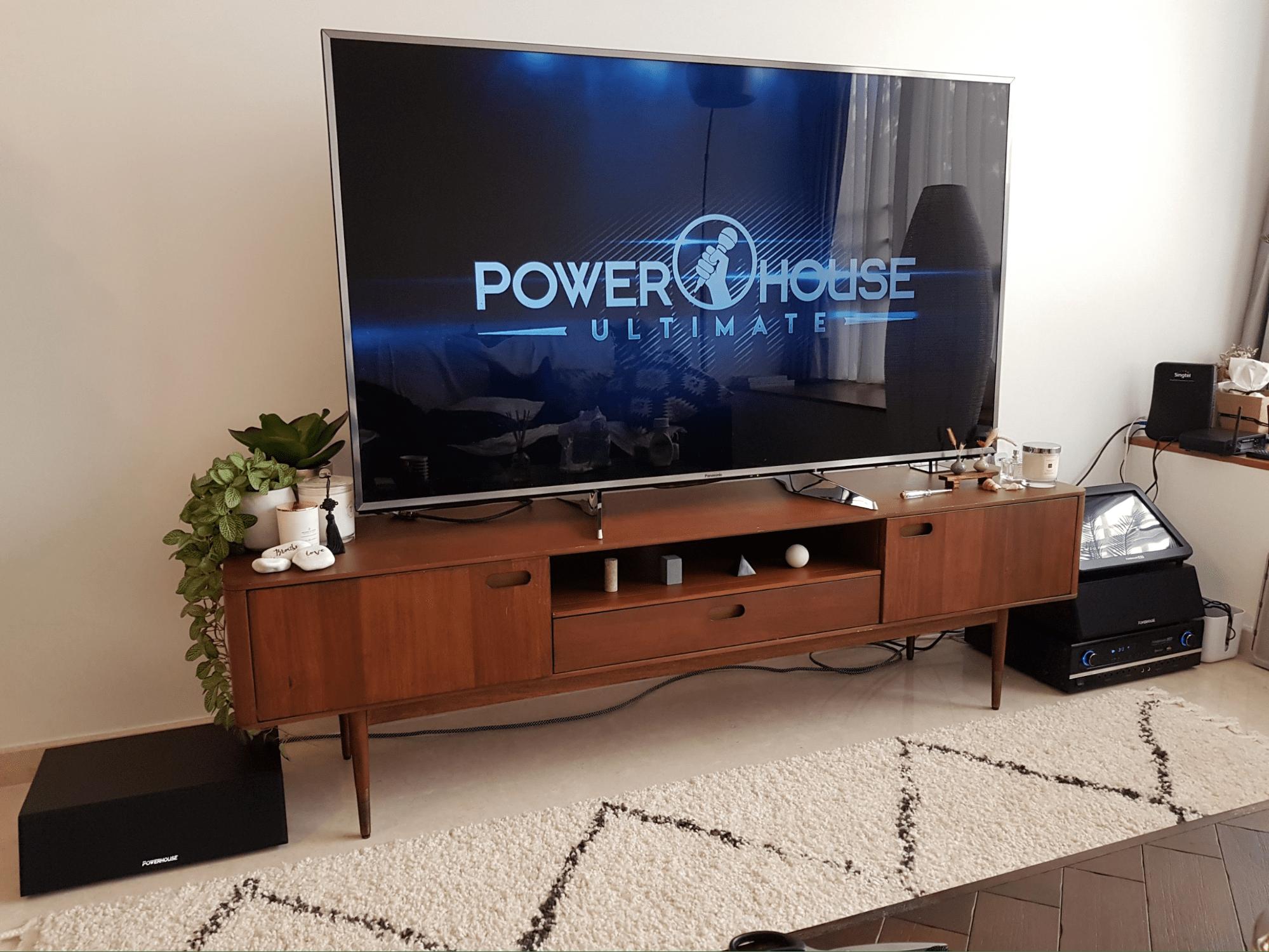 home karaoke system - Powerhouse Home Karaoke