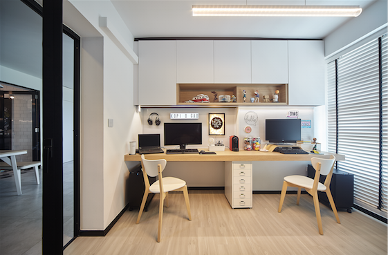 Dual-concept study area