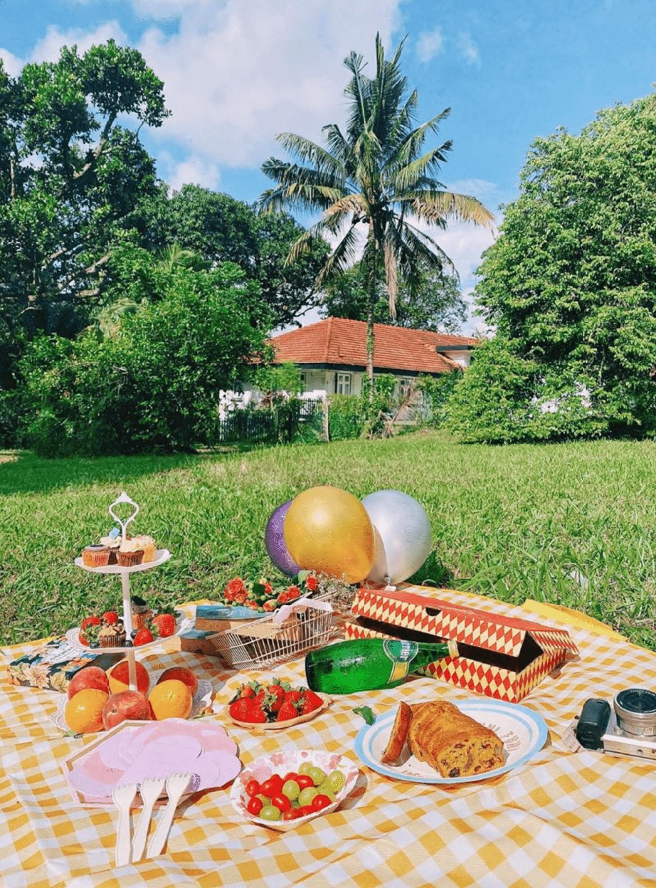 HortPark Singapore - picnic