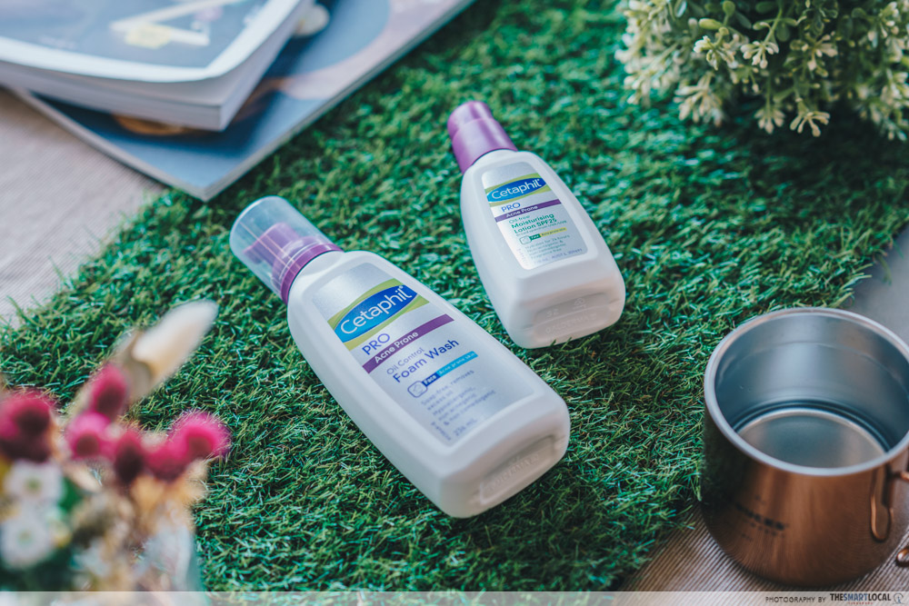 how to prevent acne - cetaphil acne prone facial cleanser