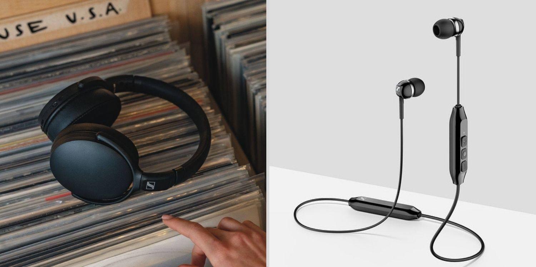 Sennheiser speakers and earbuds