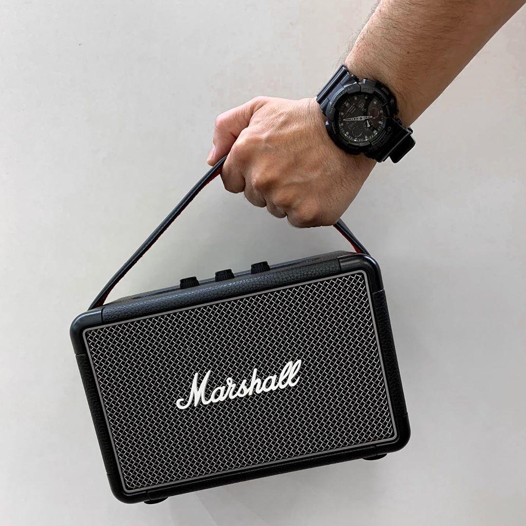 KrisShop Tech Fair 2020 - Marshall speakers