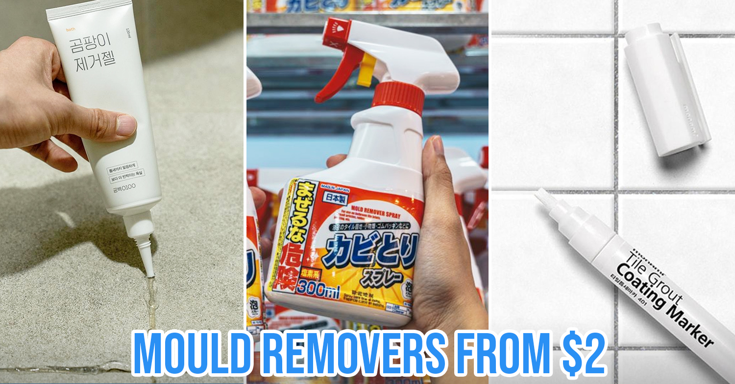 10 Mould Remover Sprays Gels Pens In Singapore To Get Rid Of Unsightly Grime Asap