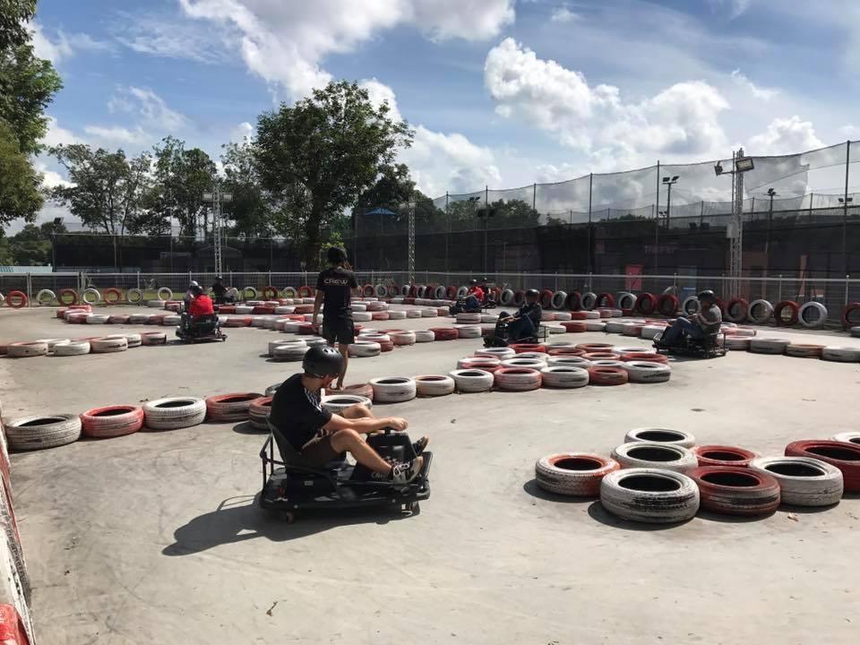 orto at khatib - drive go karts at maximum drift karting arena