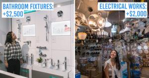 hidden renovation costs in Singapore