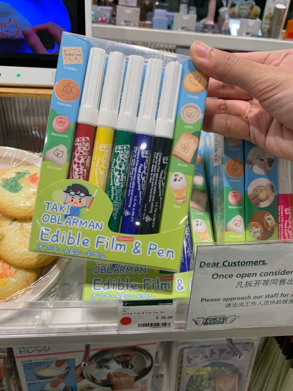 edible food dye pen