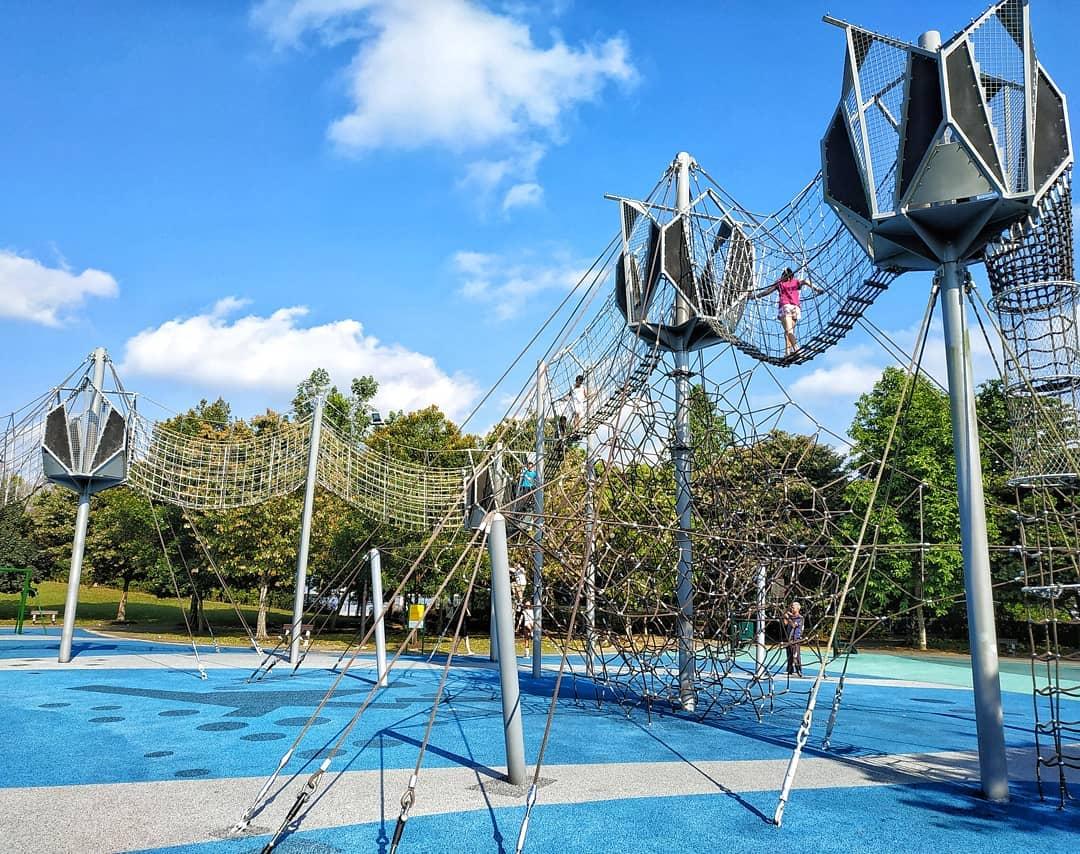 Woodlands playground