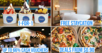 ChopeDeals' Birthday Sale Has Over 100 1-For-1 Deals, $0.90 Flash Discounts & Staycation Giveaways