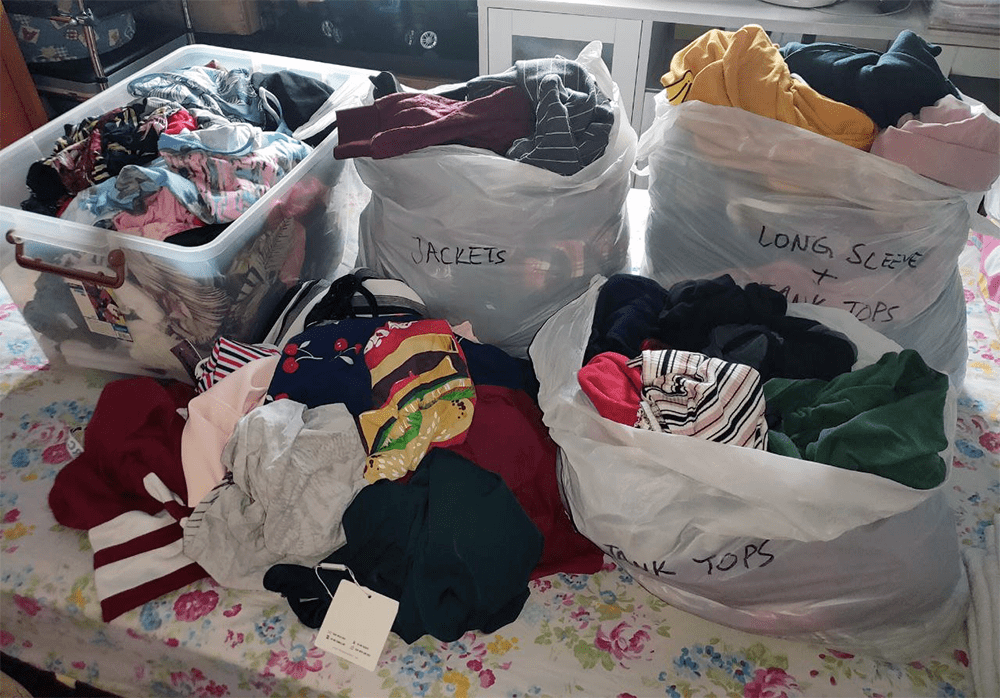 Selling Clothes Online - Decluttering